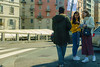 Milan. WI-FI Area. (dagboshoots) Tags: rx100ms3 rx100 sony milano milan italy richgirls seller street travel worktravel work car window money freewifi wifi confused girls young youth fashion streetfashion dagboshoots dagbo