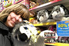 Surrounded by Dogs! (Jainbow) Tags: toy shop store toys dogs huskies husky dog selfie me jainbow