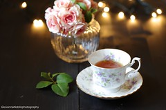 A day in the life 4 (Giovanna-la cuoca eclettica) Tags: tè tea teacup stilllife drink flowers