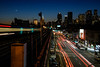 7 moon venus trails (grapfapan) Tags: traffic city urban dusk nightfall moon subway genre newyorkcity queens ubahn usa railways travel