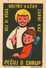 czechoslovakian matchbox label (maraid) Tags: czechoslovakian matchbox label czechoslovakia czech packaging heath teeth clean cleaning kids children toothbrush dentist 1960s 1964 uuzo