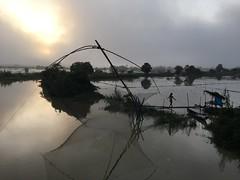 Myanmar, Ayeyarwady Region, Pathein District, Pathein Township, Zin Pyun Kone Village Tract (Die Welt, wie ich sie vorfand) Tags: myanmar burma bicycle cycling ayeyarwadyregion ayeyarwady irrawaddy delta patheindistrict pathein patheintownship zinpyunkone fishing