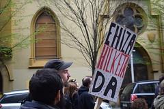 Askekintzaren ehizaren aurkako manifestazioa