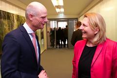 Karin Kneissl trifft im Rahmen des RAB in Luxemburg den niederländischen Außenminister Stef Blok