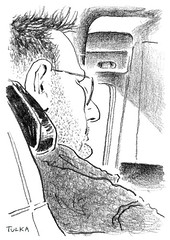 Airports and Planes 33 (Rick Tulka) Tags: airports planes travel caricature pencil drawing sketchbook paris newyork