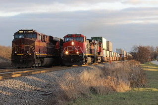 Another intermodal passes the Pennsy