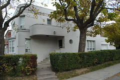 1935 (s i l e n t p i c t u r e s) Tags: 1935 residence cattocatto architects artdeco strathearnroad toronto