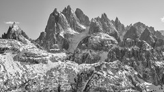 Maximum Pointiness #2 (Andrew Luyten) Tags: auronzo bw dolomites dreizinnen exodus trecimedilavaredo mountain auronzodicadore veneto italy it