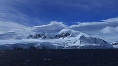Murray Island (nisudapi) Tags: 2018 antarctic antarctica quark ship boat oceandiamond seascape grahamchannel passagemurray islandbluff snow mountain coast