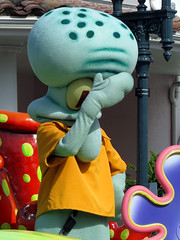 Squidward (meeko_) Tags: squidward octopus spongebobsquarepants nickelodeon characters universalorlandocharacters nickelodeoncharacters character party zone characterpartyzone show entertainment hollywood universal studios florida universalstudios universalstudiosflorida themepark orlando universalorlando facepalm