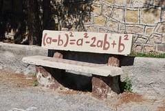 empty 76 (Ian Riley [on the right side of the fence]) Tags: asia turkey niğde nigde school yard bench concrete equation algebra empty