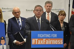 Menendez, Pascrell Announce Legislation to Restore Tax Fairness