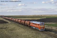2018.03.14 | M62 194 | Sárszentágota (Davee91) Tags: kralupy zenica retro photo trains zug güterzug trenuri tehervonat szergej taigatrommel 628194 m62194