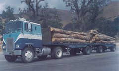 Mack FL (PAcarhauler) Tags: truck trailer semi tractor kw pete mack