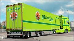 "MAN TGX Euro 6 ""Kees de Lange"" (Bepreeh) Tags: ets ets2 euro truck simulator 2 man tgx kees de lange"