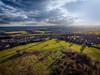 On Approach. (Darren Flinders) Tags: clouds cloudporn winter sunset sheffield rotherham keppelscolumn dronephotography aerialphotography djiphantom4 hdr aurora2018 shadows