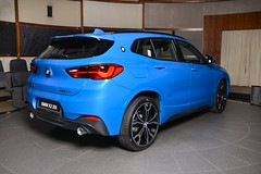 BMW X2 sDrive20i with M Sport Package in Misano Blue (3) (aganesaganes) Tags: