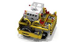 Lego EV3 Mow-Bots Tiger Robot (dluders) Tags: fll lego mindstorms ev3 firstlegoleague wro robot claw pto ldd lxf