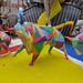 Artistic Fallas Bull Sculpture