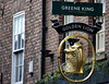 Golden Lion - Golden Signs in York (Tony Worrall) Tags: city england regional region area northern uk update place location north visit county attraction open stream tour country welovethenorth britain english british gb capture buy stock sell sale outside outdoors caught photo shoot shot picture captured sign signage hang hanging gold golden color colours shop goldenlion pub bar inn boozer chain publichouse