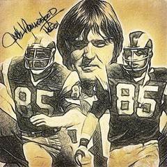 13 - Jack Youngblood (Bob Smerecki) Tags: smackman snapnpiks robert bob smerecki sports art digital artwork paintings illustrations graphics oils pastels pencil sketchings drawings virtual painter 6 watercolors smart photo editor colorization akvis sketch drawing concept designs gmx photopainter 28 draw hollywood walk fame high contrast images movie stars signatures autographs portraits people celebrities vintage today metamorphasis 002 abstract melting canvas baseball cards picture collage jixipix fauvism infrared photography colors negative color palette seeds university michigan football ncaa mosaic