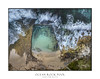 Aerial view of the odd shaped rock pool (sugarbellaleah) Tags: pool rockpool ocean beach swim people motion surf waves swimmingpool nature aerial beauty rocks geology sand seashore fun lifestyle recreation seascape landscape park grass australia