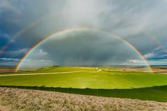 Double Trouble (S l a w e k) Tags: rainbow southdowns sussex