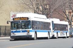 IMG_5704 (GojiMet86) Tags: mta nyc new york city bus buses 2012 c40lf cng 618 subway shuttle 31st street ditmars blvd
