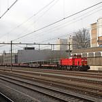 20180330 DBC 6455 + lege wagens, Sittard thumbnail
