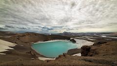 Cráter Viti. (David Andrade 77) Tags: islandia crater viti iceland travel viaje naturaleza nature krafla volcán samyang14mmf28edasifumc volcano geología geology