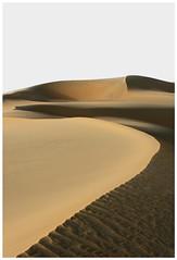 Curves & Ripples (BesnikM) Tags: winds dunes curves ripples sunset shadows inland sea qatar