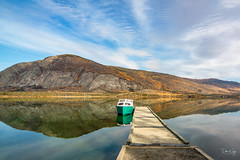 Autumn Serenity (Dan King Alaskan Photography) Tags: pinelake yukonterritory canada autumn fall scenic serene canon50d sigma1224mm ngc