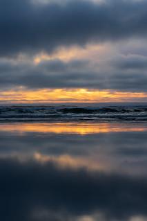 Washington coast sunset