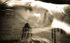 Ghost In My Head (Southern Darlin') Tags: art me conceptual emotive photo manipulation sad haunted