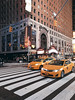 busy (unezverena_pogacica) Tags: ny nyc newyork city street atmosphere lights buildings architecture taxi times square timessquare moment