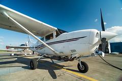 Cessna 206 : Teuge : EHTE (Benjamin Ballande) Tags: cessna 206 teuge ehte