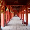 Red and gold, Hue Citadel (Hammerhead27) Tags: restored vietnam symbolic historic old wood walkway corridor gold red forbiddencity imperial citadel hue