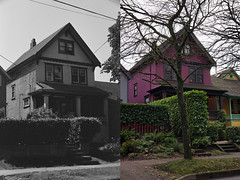 140 West 10th Avenue - 1978 • 2017 (entheos_fog) Tags: vancouver mountpleasant thenandnow 10th 1978 2017