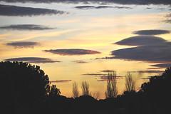 A strange world (Claude Duboille) Tags: sunset coucher de soleil nightfall dusk crépuscule sk y ciel colors couleurs landscape paysage languedoc sud southoffrance photographer claudeduboillecom