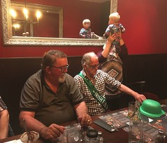 180317 Dinner at the Cobb & Co - David, Darcy, Amelia, & Sarah (Gary Danvers Collection) Tags: reunion taupo