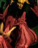 Delphi (Kalliope-Amorphous) Tags: delphi macabre horror mirror funhouse distorted strange bizarre self portrait red woman experimental conceptual dark art
