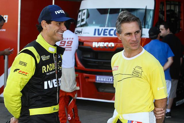 Beto Monteiro e Felipe Giaffone - Foto: Vanderley Soares/Copa Truck