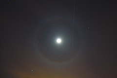 ISSFlyOver (harfordastro) Tags: lunar moon halo iss flyover space station astrophotography astronomy