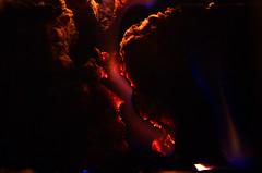 Rougeoyant (Atreides59) Tags: flamme flame flammes flames feu fire cheminée cheminee jaune yellow rouge red bleu blue braise braises pentax k30 k 30 pentaxart atreides atreides59 cedriclafrance
