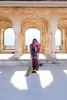 The Lady, Amer fort (SaiKiranKanuri) Tags: amer fort rajastan jaipur amber morning worker tradtional