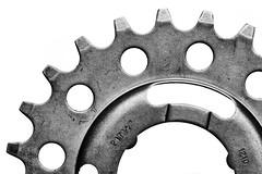 Evolution of the Circle - HMM! (Mr Winegettr) Tags: macromondays circle round sprocket gear zahnkranz zahnrad machine maschine engine engineering bicycle fahrrad