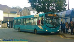 The mountain Pulsar (Efan Thomas Elevators/Lifts & Buses) Tags: arriva buses wales wrightbus vdl sb200 pulsar cx58exd 2913