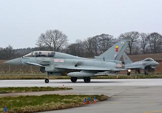 41 Sqn Typhoons