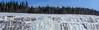 GEL ET DÉGEL (BLEUnord) Tags: montagne mountain glace ice neige snow dynamite roc rock flanc parc park altitude laurentides 70 saguenay gel frozen québec canada épinettes arbres trees forest forêt panorama tableau
