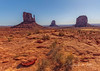 West and East Mitten MV NP 4-9-18-3959 (Photographer / Artist) Tags: monumentvalley navajolands outdoor nature rocks statues sandstone indian reservations